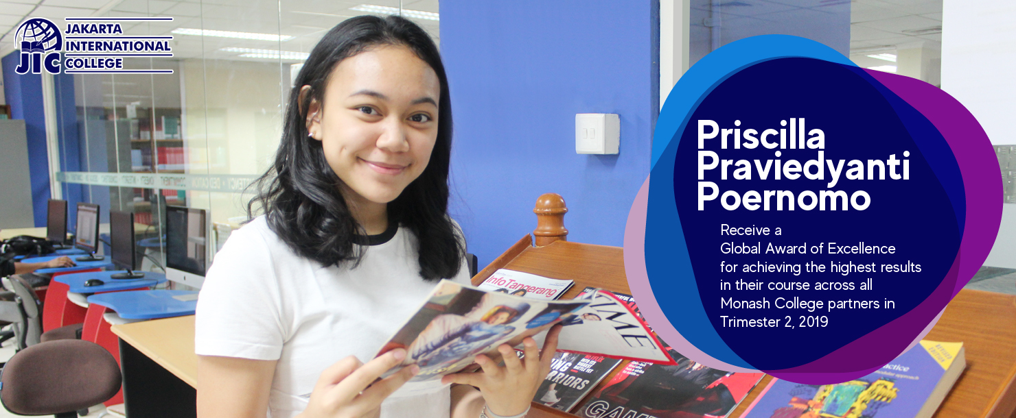 Global Awards of Excellence 2019 - Priscilla Praviedyanti Poernomo
